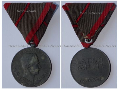 Austria Hungary WW1 Wound Medal Laeso Militi for Single Wound Marked W&A 1918