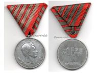 Austria Hungary WW1 Wound Medal Laeso Militi for 4 Wounds