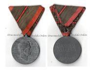 Austria Hungary WW1 Wound Medal Laeso Militi for Single Wound