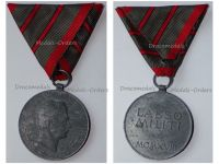 Austria Hungary WW1 Wound Medal Laeso Militi for 2 Wounds