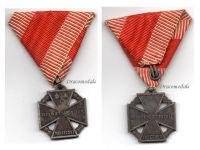 Austria Hungary WW1 Kaiser Karl's Cross of the Troops 1917 Marked HMA