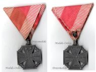 Austria Hungary WW1 Kaiser Karl's Cross of the Troops 1917 Maker MKT