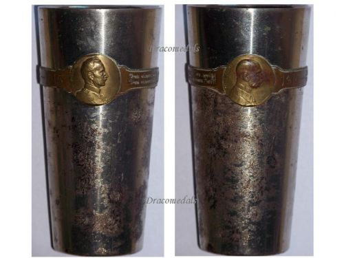 Germany Austria WW1 Kaiser Wilhelm FJ patriotic Cup Officers Goblet WWI KuK 1914 1915 Great War Large Type