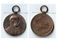 Austria Hungary Golden Jubilee 1848 1898 Kaiser Franz Joseph Military Medal KuK Austro Hungarian Empire