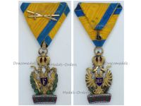 Austria Hungary Imperial Order Iron Crown III Class Knight with War Decoration & Crossed Swords