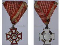 Austria Hungary WW1 Cross Military Merit 3rd Class 1914 1918 Medal Austrian Kaiser Franz Josepf Maker Mayers