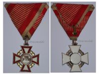 Austria Hungary WW1 Cross Military Merit 3rd Class 1914 1918 Medal Austrian Kaiser Franz Josepf Maker Souval