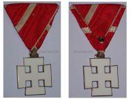 Austria Decoration Merit Austrian 1st Republic Silver Cross VII Class Civil Military Medal 1922 1938
