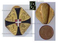 Austria Hungary WW1 Double Headed Eagle Patriotic Buttonhole Badge 1914 by Souval