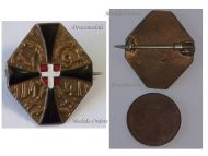 Austria Hungary WW1 Double Headed Eagle Patriotic Cap Badge 1914 KuK Great War Support Austro-Hungarian Empire WWI 1918