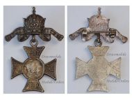 Austria Hungary WW1 Gott Mit Uns Cap Badge 1914 Cross United Kaisers Wilhelm Germany Franz Joseph WWI Great War 1918 KuK Imperial Crown