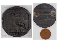 Austria Hungary WW1 11th Army Tirol 1916 Cap Badge by Bertle & Gurschner