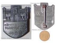 Austria Hungary WW1 Brueckenkopf Ivangorod Cap Badge 1915