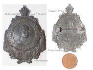Austria Hungary WW1 Archduke Karl Franz Joseph Heir to the Throne Tirol 1916 Cap Badge by Schneider