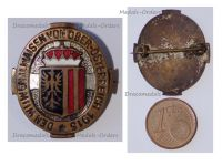 Austria Hungary WW1 Upper Austrian Cap Badge for the Support of the Widows and Orphans 1915