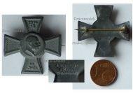Austria Hungary WW1 7th Army Group Pflanzer Baltin Cross Cap Badge Kaiser Franz Joseph 1914 1915 by Gurschner