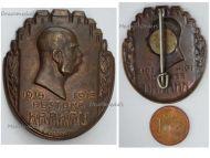 Austria Hungary WWI KuK Fort Krakaw Cap Badge Kaiser Franz Joseph 1914 1915 Patriotic WW1 Great War 1918 by Korschann