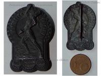Austria Hungary WW1 KuK Electrical Engineers Battalion Cap Badge 1915 1918 Technical Troops Patriotic Great War 1914 Maker Gurschner