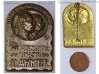 Austria Hungary WW1 11th Army Cap Badge United Kaisers Wilhelm Germany Franz Joseph WWI Great War 1914 Maker Gurschner