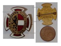Austria Hungary WW1 Salzburg Combatants Cap Badge 1914 1915 by the War Support Office