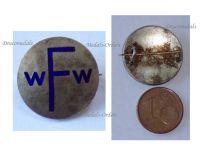 Austria Hungary WW1 Austrian Fund for Widows and Orphans Cap Badge