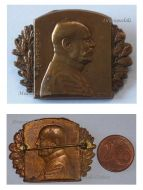 Austria Hungary WW1 Archduke Field Marshal Friedrich Patriotic Cap Badge 1915 KuK Army Great War 1914 1918 Austro-Hungarian