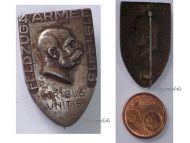 Austria Hungary WW1 KuK 4th Army Cap Badge Eastern Front Campaign 1915 Kaiser Franz Joseph