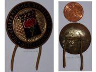 Austria Democratic Worker Party SDAP Protection Association cap badge pin 1st Austrian Republic 1923 1934