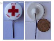 Austria Hungary WW1 Red Cross Cap Badge Stickpin 1914 1915 1916