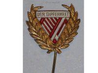 Austria Hungary WW1 Tapferkeit Fortitudini Bravery Pin Patriotic WWI 1914 1918 KuK Great War Austro-Hungarian