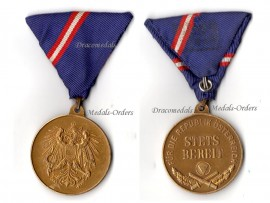 Austria Military Service Bronze Commemorative Medal 1963 2nd Austrian Republic Decoration
