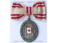 Austria Hungary WW1 Red Cross Silver Merit Medal 1864 1914 with War Decoration by V. Mayers