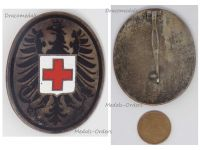 Austria Red Cross Doctor Medic Badge Military Medal Numbered #181 2nd Austrian Republic