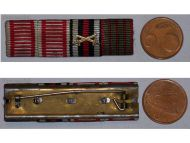 Austria WWI Iron Cross Tapferkeit Bravery Laeso Militi Wound Germany Hindenburg Military Medal ribbon bar WW1 1914 1918 German
