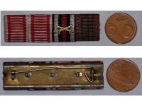 Austria WWI Iron Cross Tapferkeit Bravery Laeso Militi Wound Germany Hindenburg Military Medal ribbon bar WW1 1914 1918 German