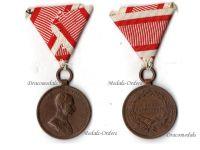 Austria Hungary WW1 Bronze Tapferkeit Bravery Medal 3rd Class Kaiser Franz Jozeph 1914 1916 by Tautenheyn