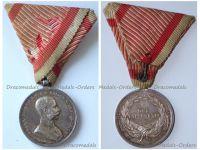 Austria Hungary WW1 Small Silver Tapferkeit Bravery Medal 2nd Class Kaiser Franz Jozeph 1914 1916 by Tautenheyn