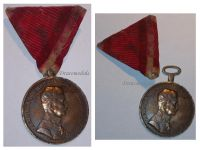 Austria WW1 Large Gold Fortitudini Medal Karl Decoration Austrian WWI 1917 1918 Great War Austro-Hungarian Empire