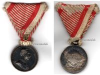 Austria Tapferkeit Medal Bravery Silver 2nd Class Austrian WW1 Franz Jozeph 1914 1916 Decoration Great War