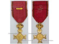 Belgium WW1 Cross Royal Federation Veterans King Albert Golden Palms 1909 1934 Military Medal Belgian Decoration