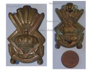 Belgium Royal Cadet School Cap Badge Belgian Army Interwar Era 1930s