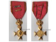 Belgium WW1 Cross Royal Federation Veterans King Albert 2 Palms Silver Bronze 1909 1934 Military Medal Belgian Decoration