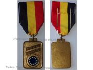 Belgium EU Medal European Confederation Former WW2 Combatants Veterans Military Decoration Belgian Award