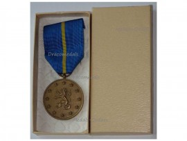 Belgium Belgian Occupational Forces in Germany Military Medal by DeGreef Boxed