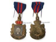 Belgium Gendarmerie Commemorative Medal Belgian Military Police Decoration Award Nihil Sine Labore