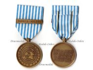 UN Belgium Korea Korean War Service Military Medal 1950 1953 Belgian Commemorative Decoration Award United Nations French Flemish