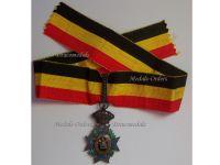 Belgium Special Decoration Mutuality Commander's Cross 1st Class Civil Merit Medal 1889 Belgian Decoration Award