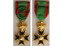Belgium WW2 Military Cross 1st Class since 1952