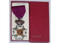 Belgium Order Leopold I Knight's Cross Civil Division Bilingual 1952 Boxed
