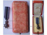 Belgium Belgian Congo WW1 Order Leopold II Knight's Cross Boxed by DeGreef MINI